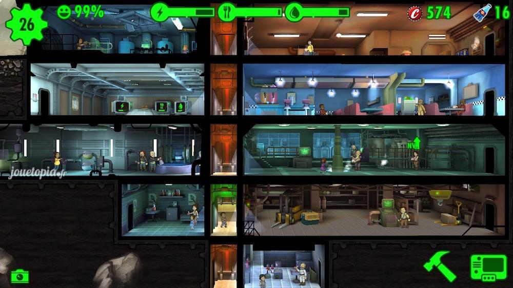 Fallout Shelter : abri Vault-Tec