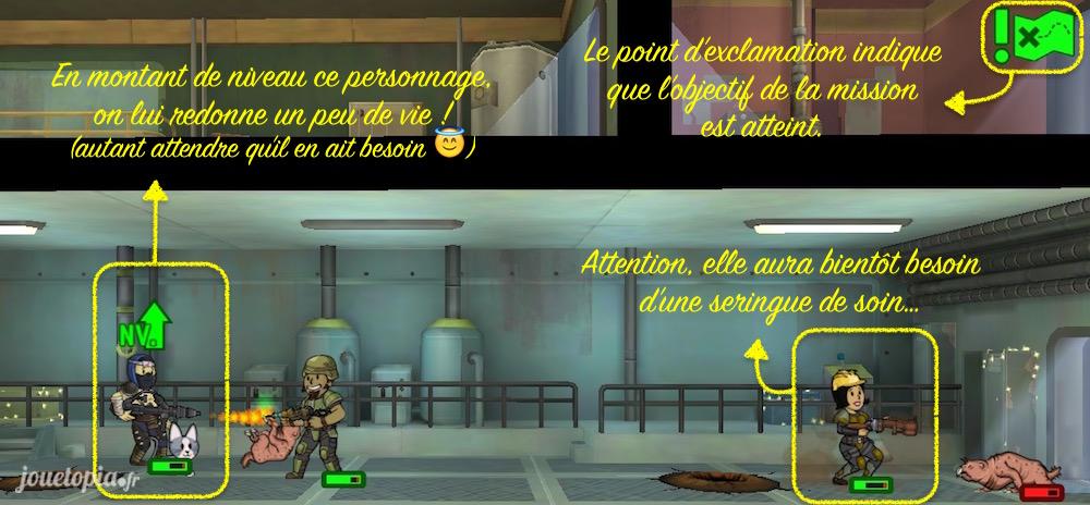 Fallout Shelter : Astuces de mission
