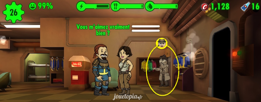 Fallout Shelter : Inconnu mystérieux