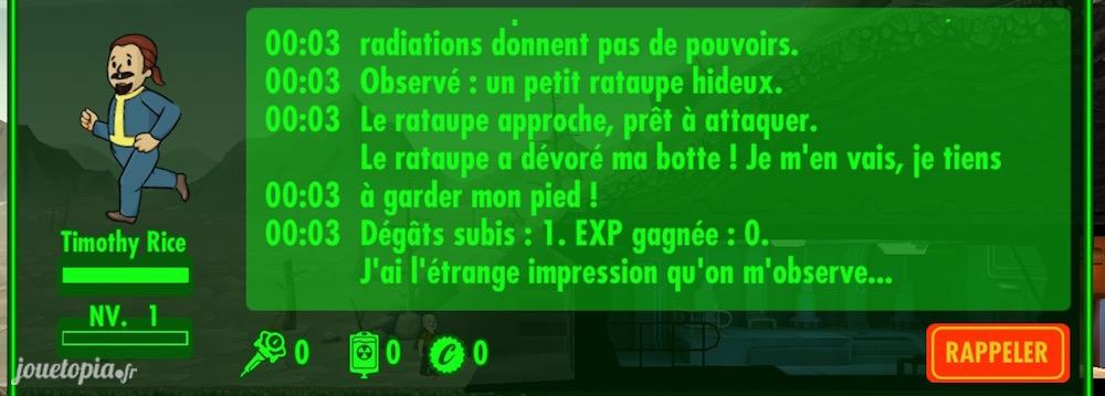 Fallout Shelter : Première expédition !