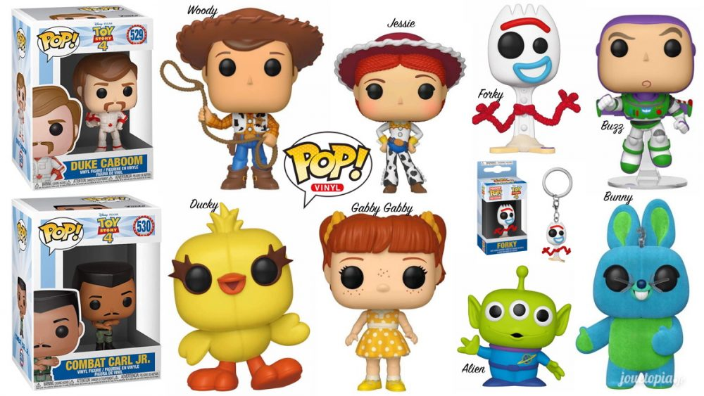 Figurines POP Toy Story 4