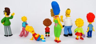 Figurines Famille Simpson (série TV)