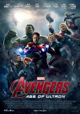 Avengers l'ère d'Ultron (affiche FR)