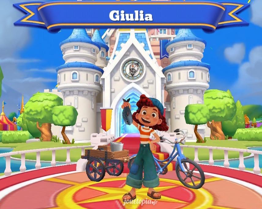 Giulia dans Disney Magic Kingdoms