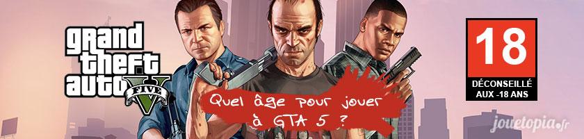 Quel âge pour jouer à GTA 5 ?