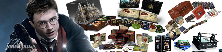 Harry Potter Coffrets Blu-Ray DVD des 8 films