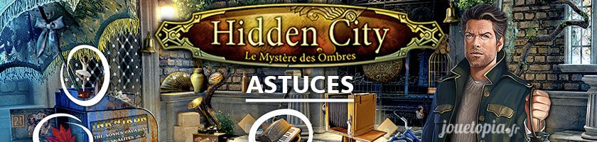 Astuces Hidden City