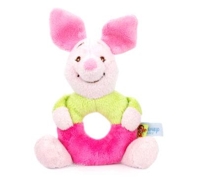 Hochet en peluche Porcinet Winnie l'Ourson Disney Baby