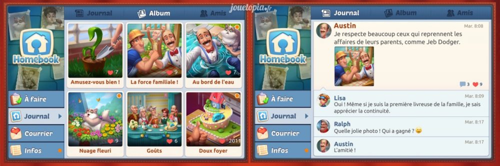 le HomeBook de HomeScapes