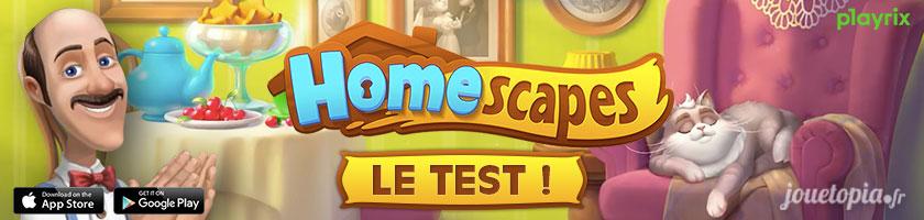 Test du jeu HomeScapes (gratuit)
