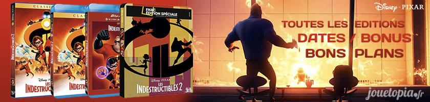 Les Indestructibles 2 en DVD et Blu-Ray : Dates, bonus, bons plans !