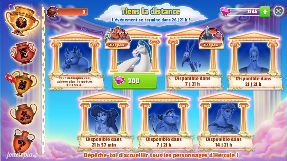 Disney Magic Kingdoms : évènement Hercule