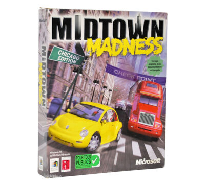 Jeu PC Midtown Madness (Microsoft)
