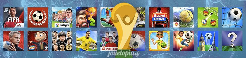 Plus de 25 jeux de football gratuits sur mobile
