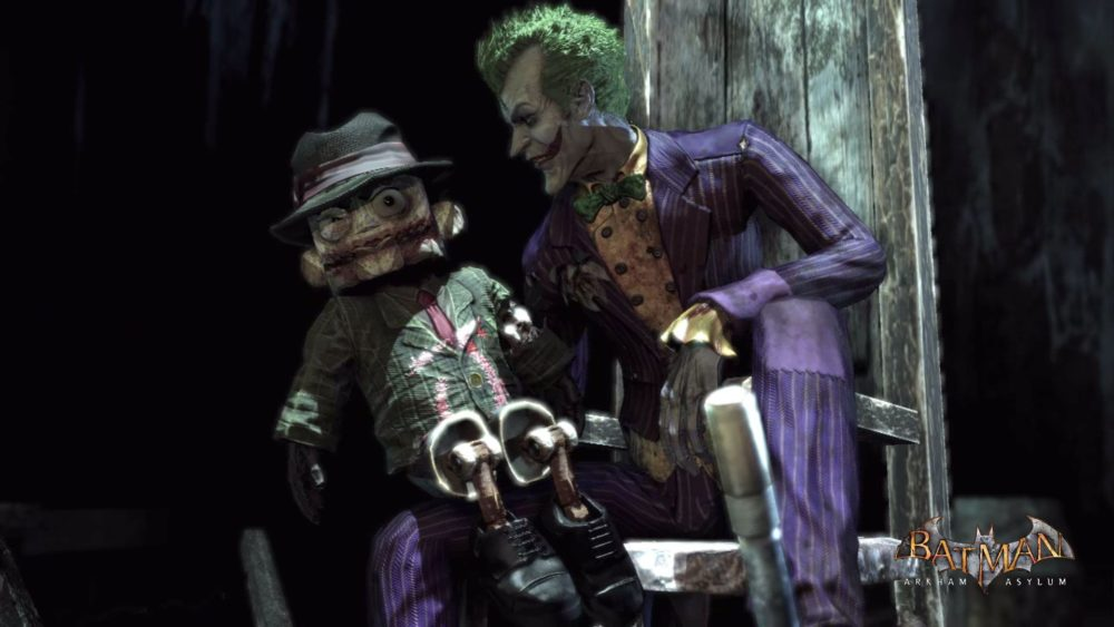 Le Joker dans Batman Arkham Asylum