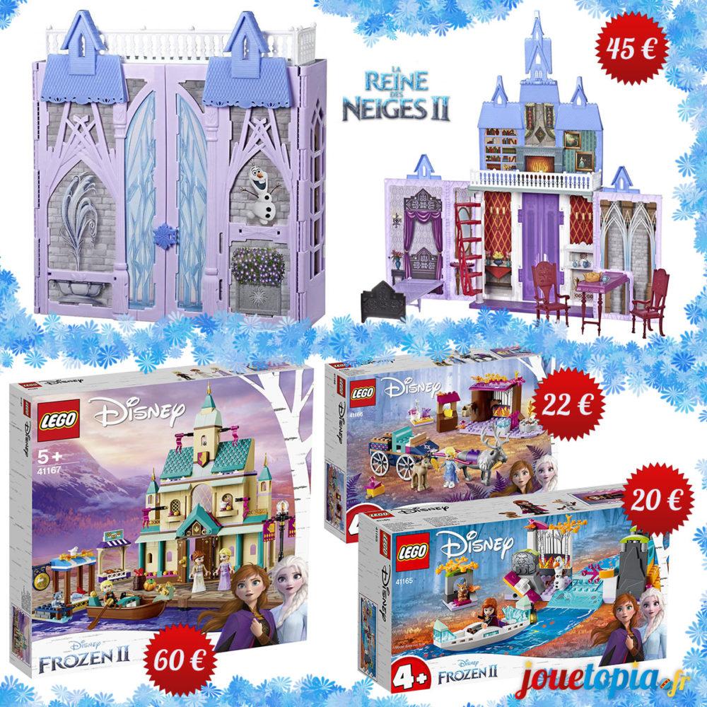 LEGO et le château d'Arendelle