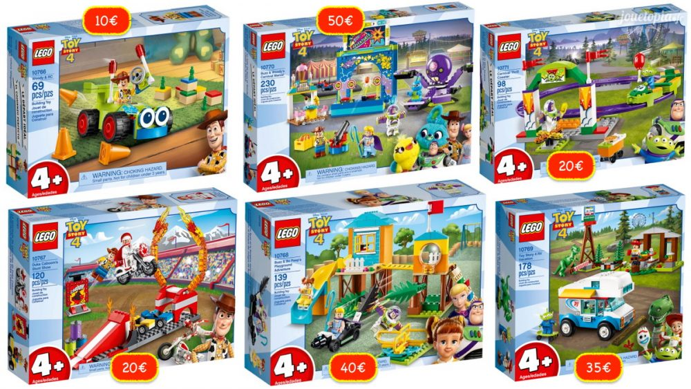 Jouets LEGO Toy Story 4