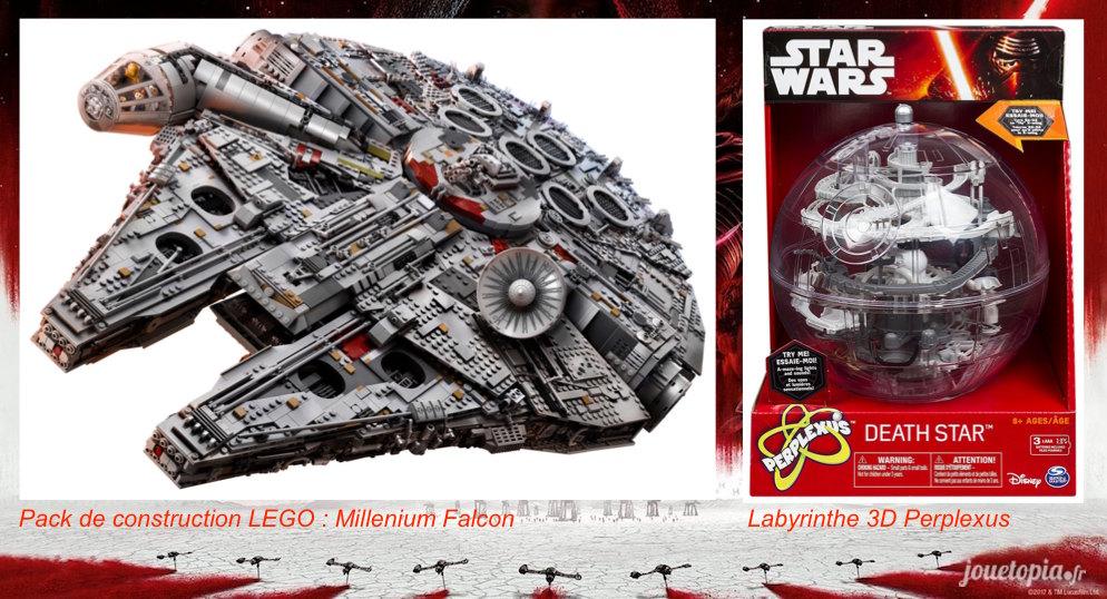 Jouets Star Wars 8 : Millenium Falcon et Perplexus