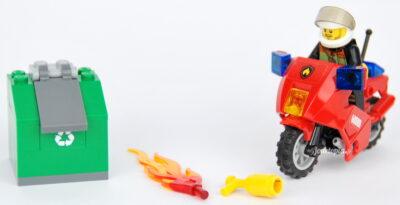 Jouet LEGO 60000 Moto des Pompiers
