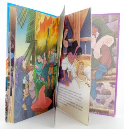 Intérieur du livre Le Bossu de Notre-Dame (Mickey Club)