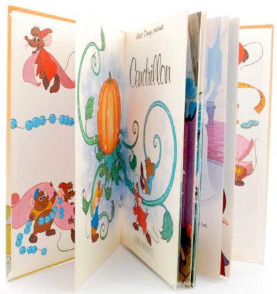 Livre Cendrillon 1977 - Mickey Club Disney