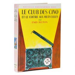 Livre Le Club des Cinq et le Coffre aux Merveilles (Bibliothèque Rose Hachette)