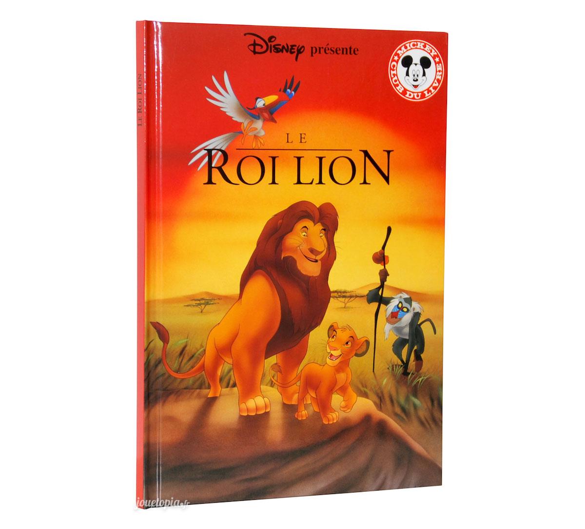 Livre Le Roi Lion Disney Mickey Club