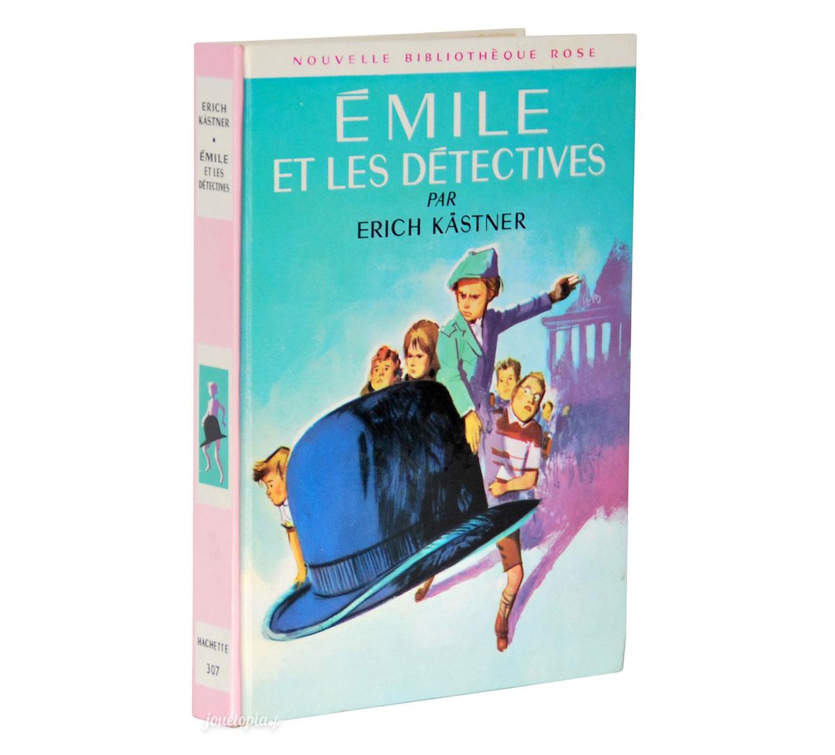 Livre Emile Et Les Detectives Nouvelle Bibliotheque Rose