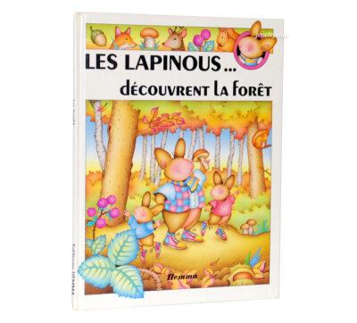 Les Lapinous découvrent la Forêt - Livre Hemma