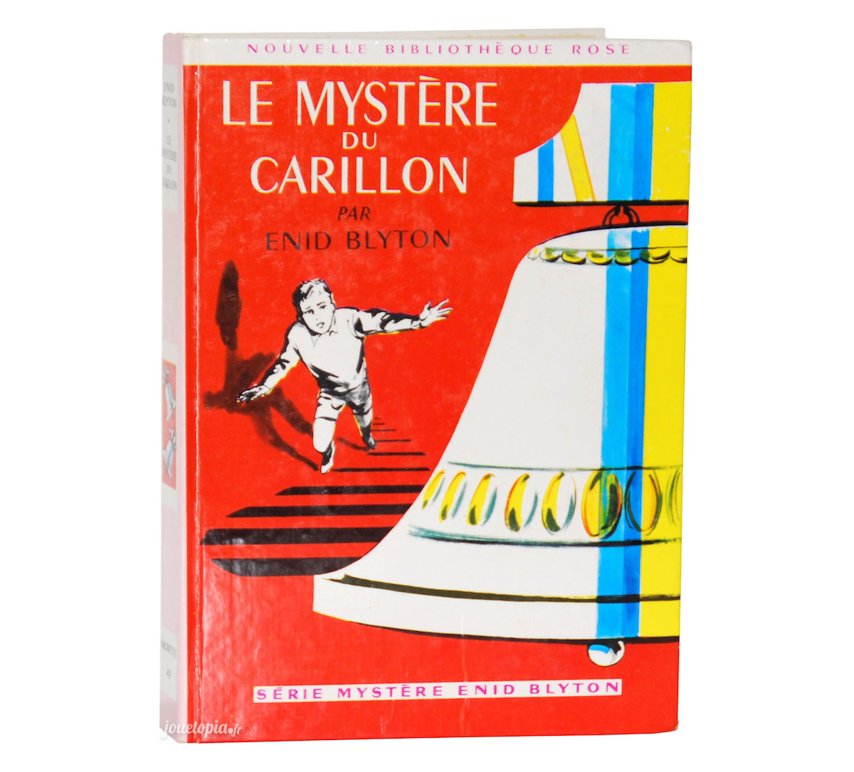 Livre Le Mystere Du Carillon Enid Blyton Bibliotheque Rose