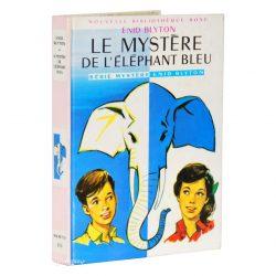 Livre Le Mystère de l'éléphant bleu - Enid Blyton (Bibliothèque Rose)
