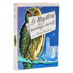 Livre Enid Blyton Le Mystère du Message Secret (Bibliothèque Rose)