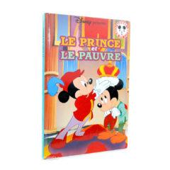 Livre Le Prince et le Pauvre Disney Mickey Club