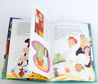 Livre Ratatouille Disney Mickey Club
