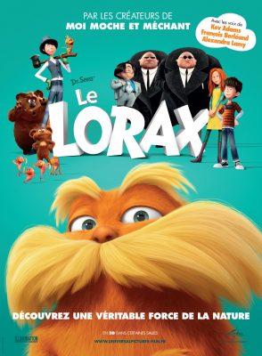 """Affiche française du film """"Le Lorax"""""""
