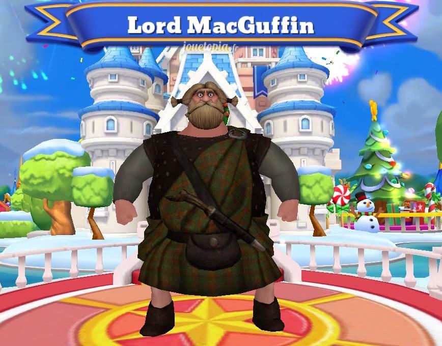 Lord MacGuffin (Rebelle) dans le jeu DMK