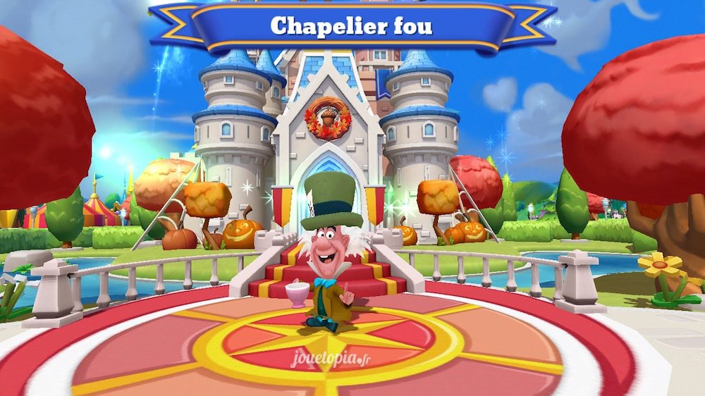 Le Chapelier Fou dans Disney Magic Kingdoms