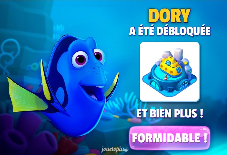 Dory dans Disney Magic Kingdoms