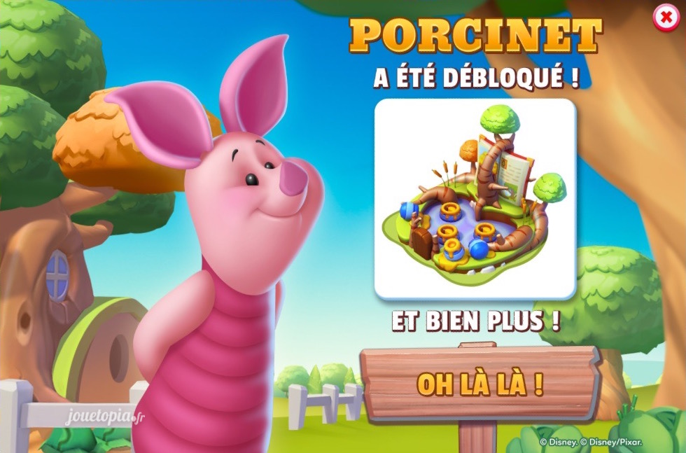 Disney Magic Kingdoms : Porcinet