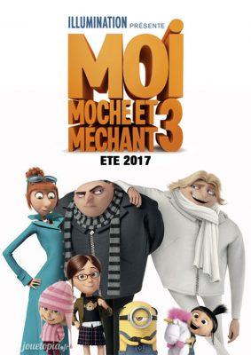 Moi, Moche et Méchant 3 : Affiche du film
