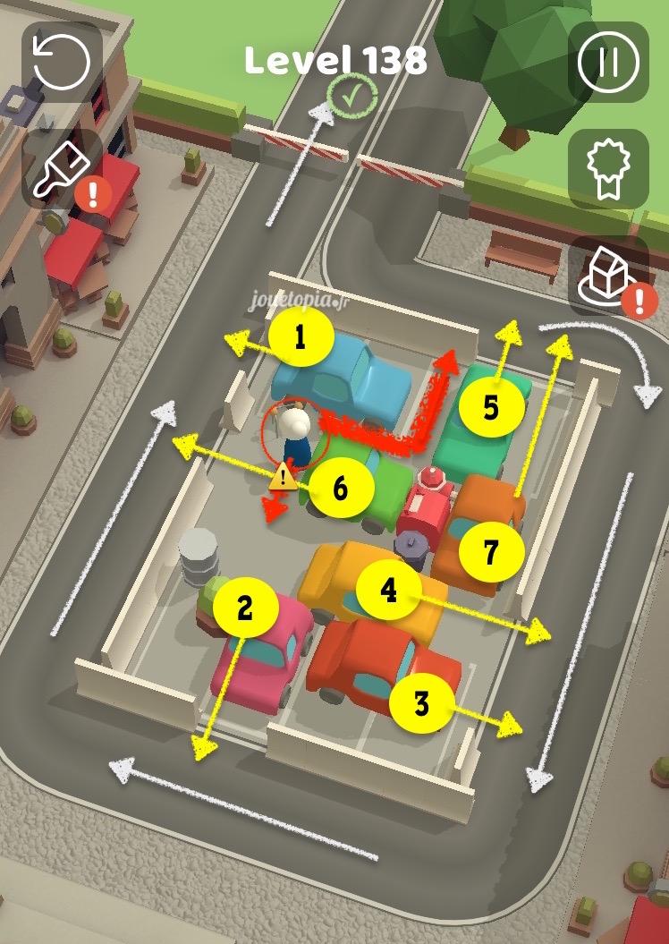Parking Jam 3D - Level 138