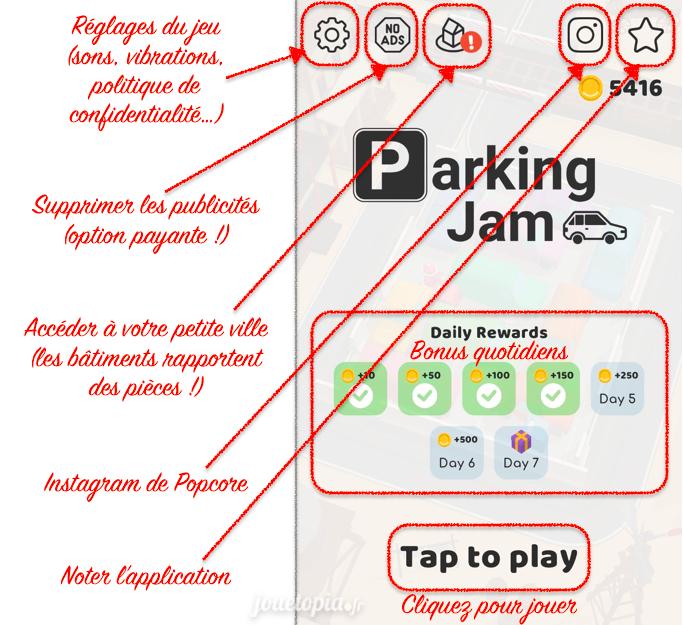 Parking Jam 3D - Français