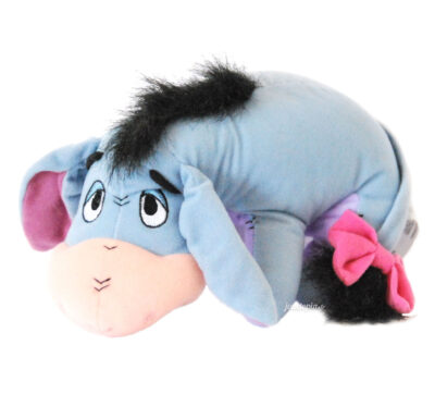 Doudou Bourriquet allongé bleu - Winnie l'Ourson Disney