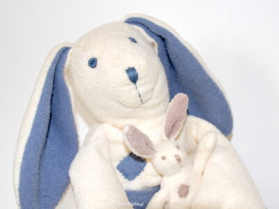 Doudou Babysun Maman lapin et son petit