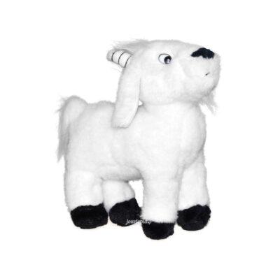 Peluche chèvre blanche 20cm