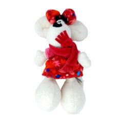 Peluche Diddlina avec sa robe à fleurs d'Automne - Depesche