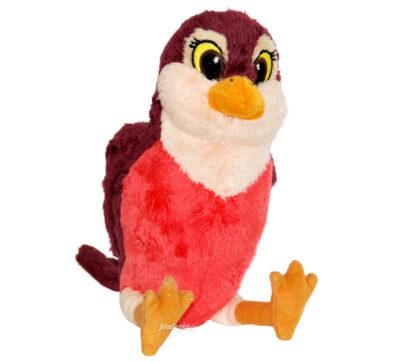 Peluche Disney oiseau rouge-gorge de Princesse Sofia