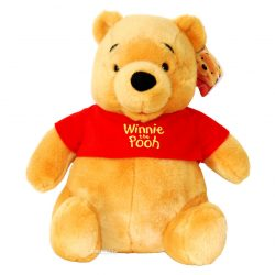 Peluche Disney Winnie l'Ourson assis