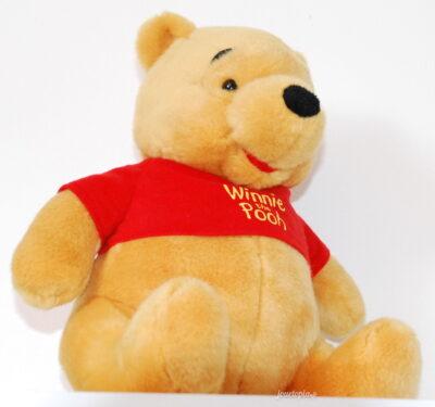 Peluche Disney Winnie l'Ourson assis