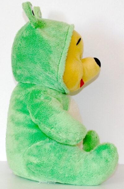 Doudou Winnie l'Ourson Grenouille Verte - Disney